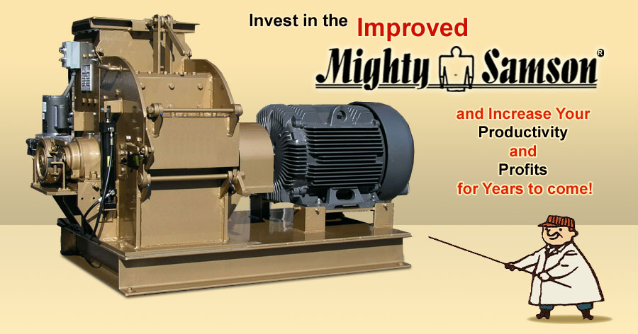 Invest in the Ottinger Machine Company - Hammermill and increase your productivity and profits for years to come.